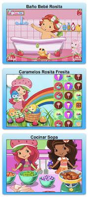 Nuevos juegos online de Rosita Fresita