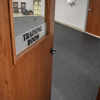 Greatmats Rubber Flooring Rolls at Babinski Foundation Dog Shelter Training Room