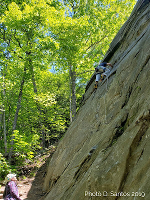 slab climbing, Rumney, Buffalo Corral, Rock climbing, New Hampshire