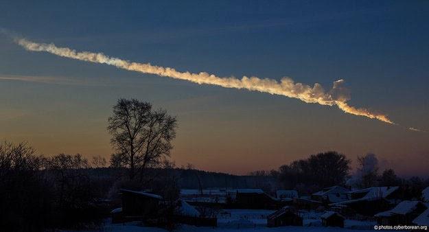 meteoro de Chelyabinsk 2