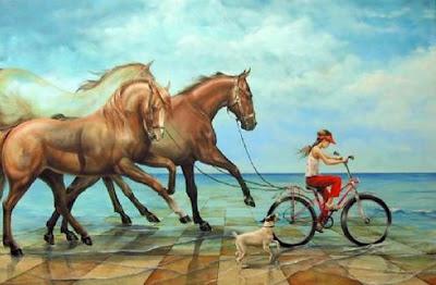 pintura-surrealista-con-caballos