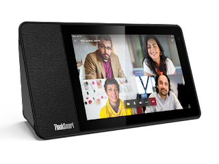 03 Thinksmart View Hero Front Facing Left Lenovo to Enter Microsoft Teams IP Phone Market with SmartThink View