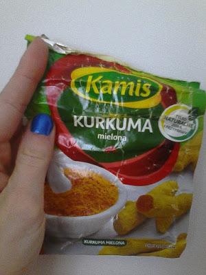 Moje sposoby na odporność: Kurkuma