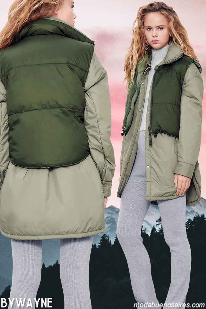 Camperas urbanas mujer otoño invierno 2021