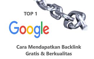Cara Mendapatkan Backlink Gratis Berkualitas (Daftar Guest Post Gratis)