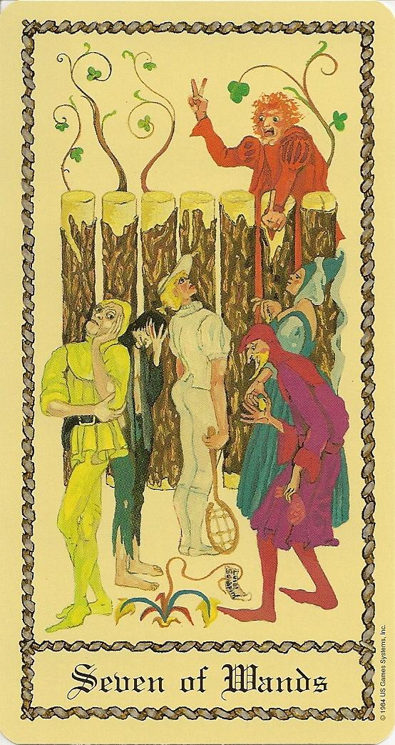 Eno's Tarots: Medieval Scapini Tarot