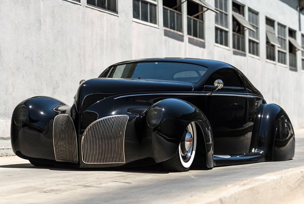 A Collection of 12 Amazing Photos of Lincoln-Zephyr Hot Rod