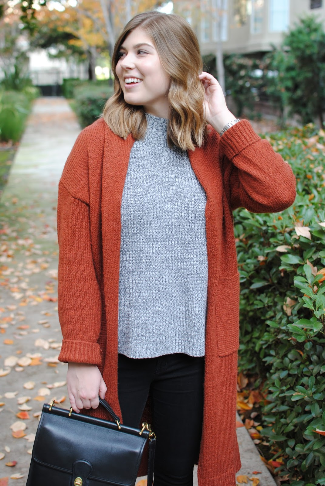 rust-long-cardigan