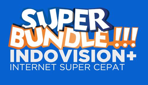 Paket Indovision Internet Super Cepat