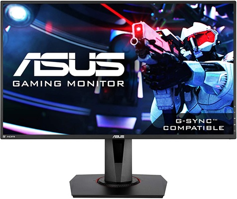Asus VG278Q: 27 '' gaming monitor with 144 Hz refresh, 1 ms response and G-Sync support