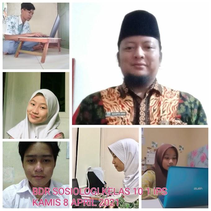 Sosiologi IPS 1 & 2 (15 April 2021)