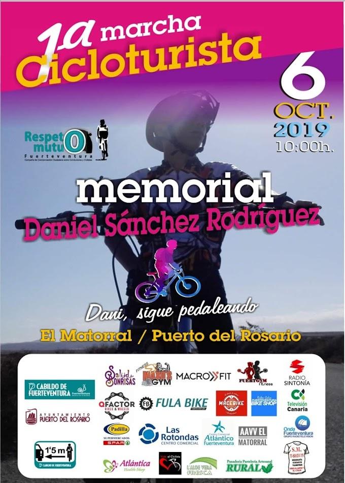 1ª MARCHA CICLOTURISTA MEMORIAL DANIEL SÁNCHEZ RODRÍGUEZ
