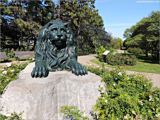 La Feuillée Lion en el Jardín Botánico de Montreal