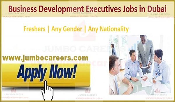 Jobs for Freshers in Dubai UAE 2020