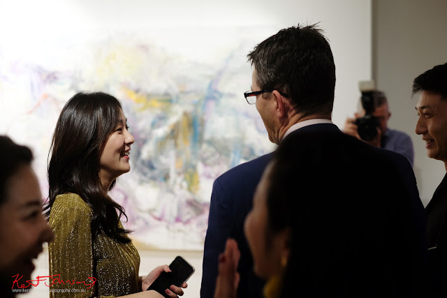 Conversations - Beyond the Light - Chinese Artist He Zige - Photos By Kent Johnson for Street Fashion Sydney.
