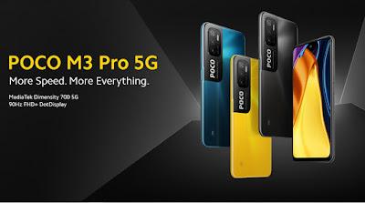 Poco M3 Pro 5G with MediaTek Dimensity 700