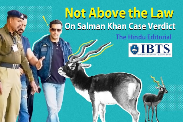 Not Above the Law: On Salman Khan case verdict: The Hindu Editorial