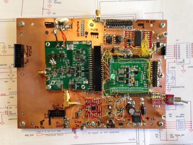 K6JCA: An FPGA SDR HF Transceiver, Part 6 -- Schematics, Main Board