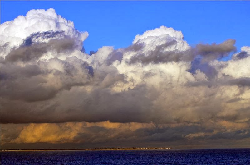 Buy stretched canvas print of Storm Clouds Gathering
