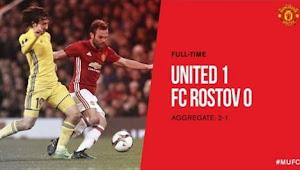 Video Gol Manchester United vs FC Rostov 1-0 Liga Europa