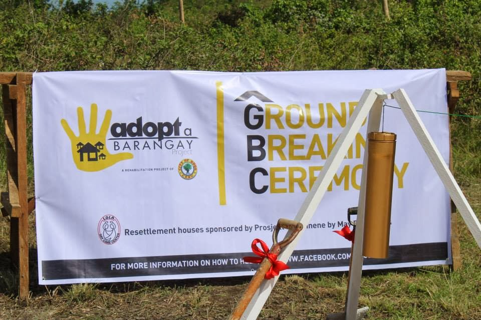 Yolanda Village Groundbreaking Ceremony