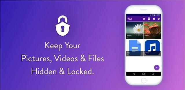 تنزيل Easy Vault إخفاء الصور ومقاطع الفيديو  والملفات قفل وإخفاء ملفات الاندرويد