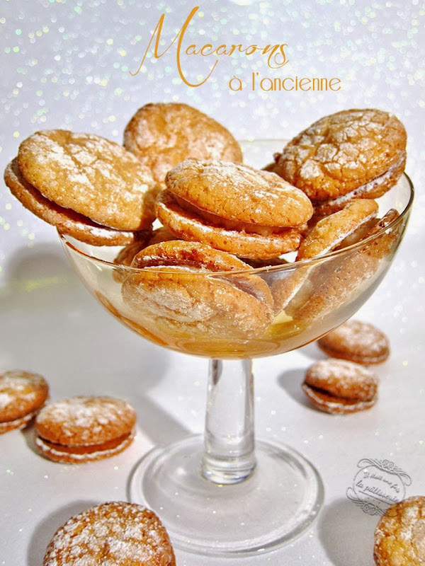 macarons à l'ancienne christophe felder