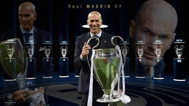 """Choáng với chiến tích của """"Vua chung kết"""" Zidane"""