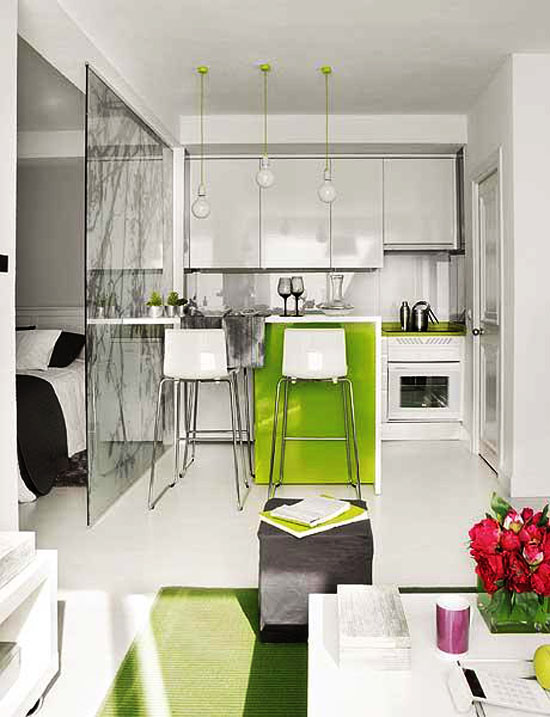 Apartment Design, Small Apartment Interior, Small Apartment Interior