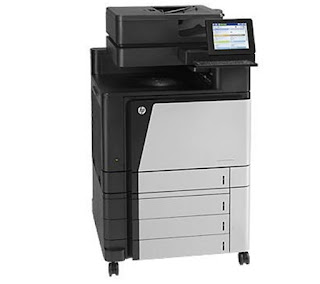 is the Multifunction Printer which streamline together with quicken piece of job processes over your busines HP Color LaserJet MFP M880z Driver Download+Price