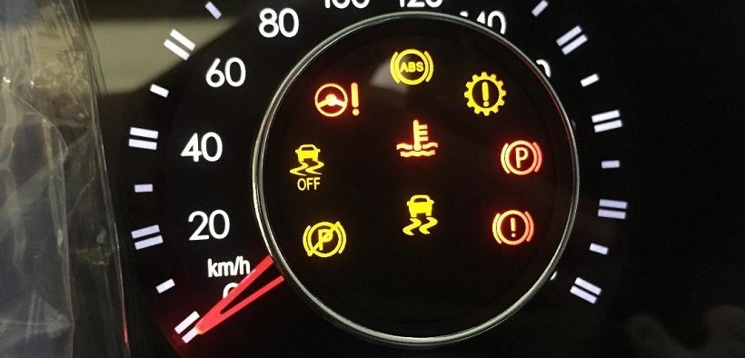Warning Lights on the Dashboard