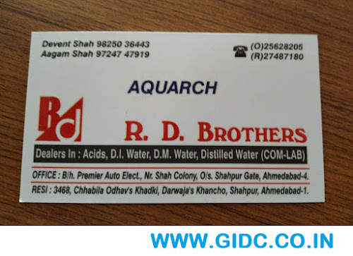 R D BROTHERS - 97247 47919