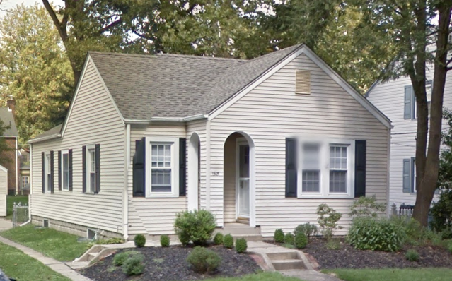 1505 Sycamore St, Haddon Heights, NJ Sears Berwyn model Google streetview front view with side