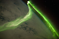 Aurora Australis observed from the International Space Station