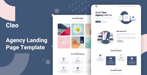 Best Agency Landing Page Template
