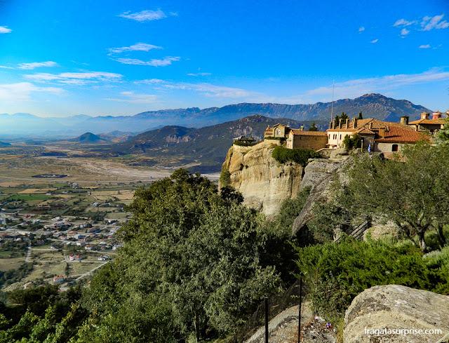 Meteora, Grécia, a terra dos mosteiros suspensos