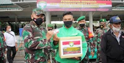 Dandim 0101/ Aceh Besar Lantik Keanggotaan  Mitra Kodim