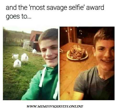 Most Savage Selfie