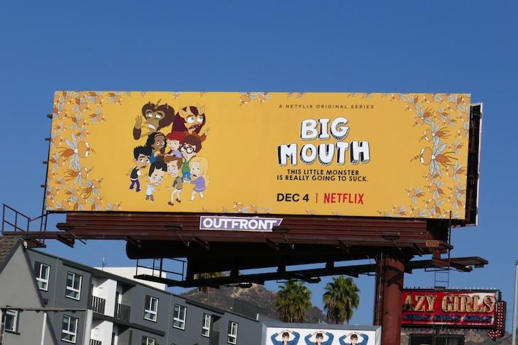 Big Mouth season 4 billboard