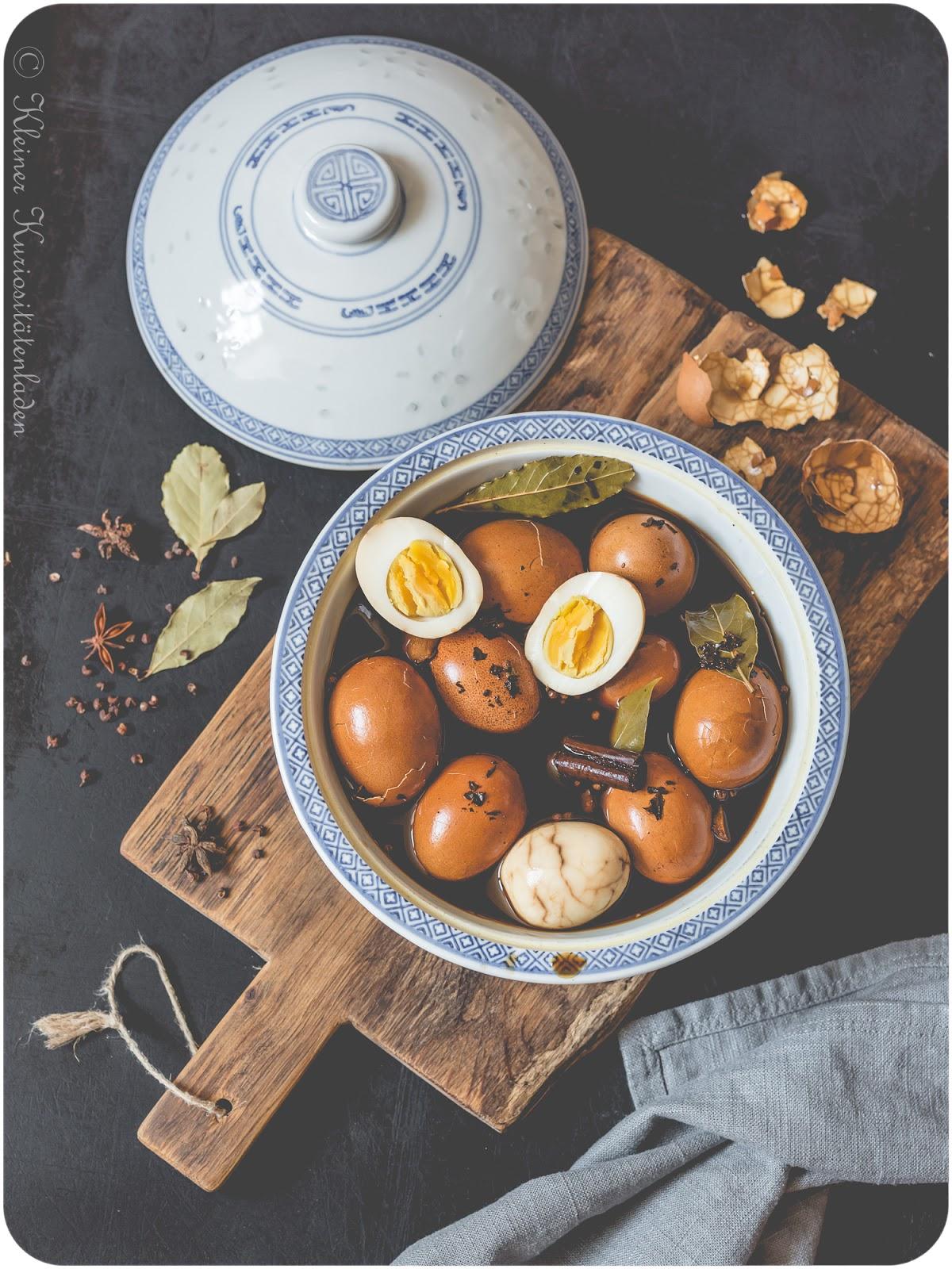 Chinesische Tee-Eier | 茶叶蛋