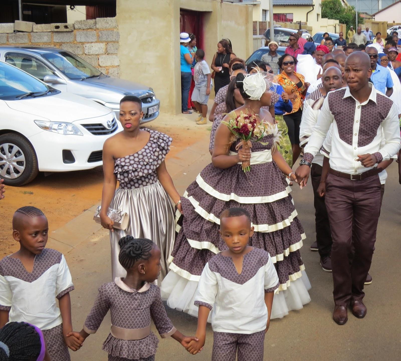 Sesotho Traditional Wedding Dress Patterns