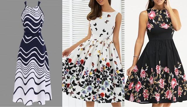 Vestidos lindos da Rose gal