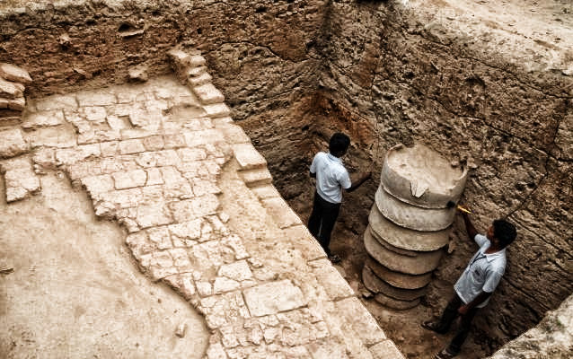 Jayasree Saranathan Harappa Like Structure Found In
