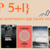 {Top 5+1} - Livros que serão adaptados e que talvez você desconheça
