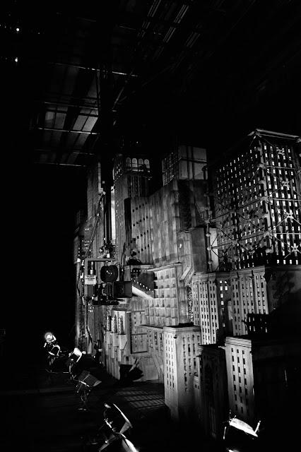 La película Batman detrás de las cámaras
