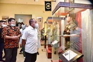 Gubernur Edy Kagumi Museum TB Silalahi, Standar Pariwisata Ada Pada Bukti dan Cerita