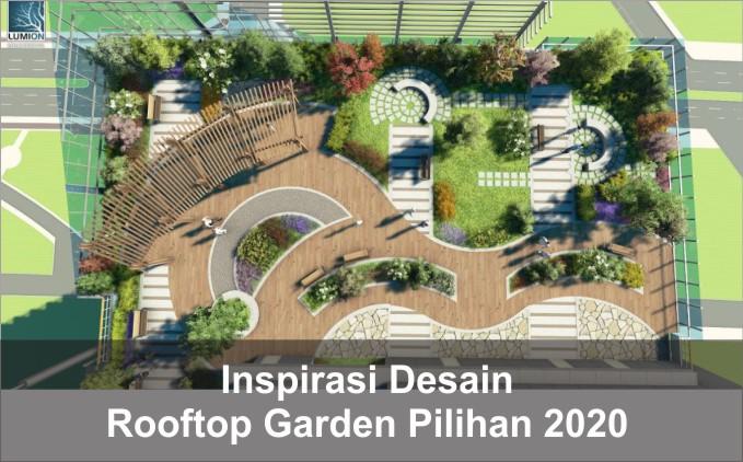 Desain Rooftop Garden