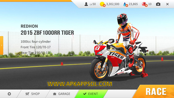 Download Real Moto Apk Mod v1.0.216 Full OBB Data
