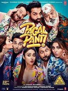 Pagalpanti 2019 Hindi Full Movie DVDrip Download mp4moviez