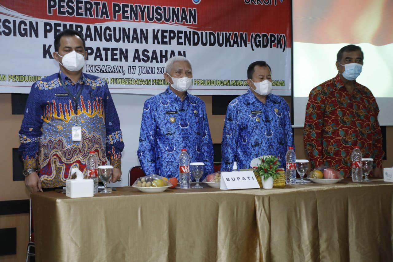 Bupati Asahan Minta OPD Yang Mengikuti Pertemuan Penyusunan GDPK Berperan Aktif